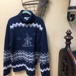 NWOT Men's Old Navy Lambs Wool Turtleneck Sweater